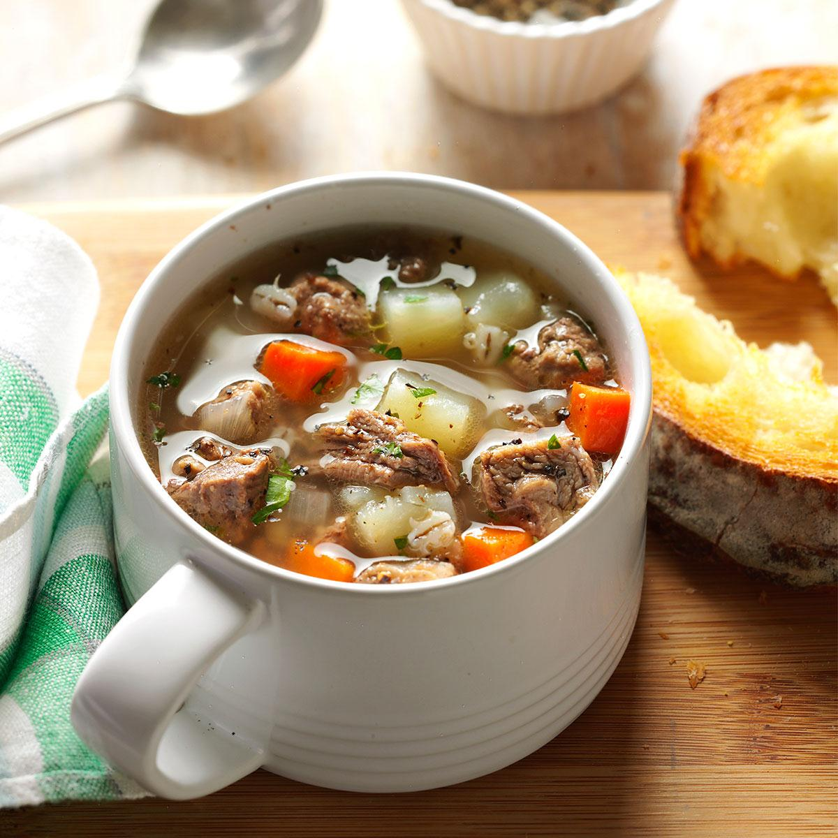 Soup Recipes Using Ground Beef