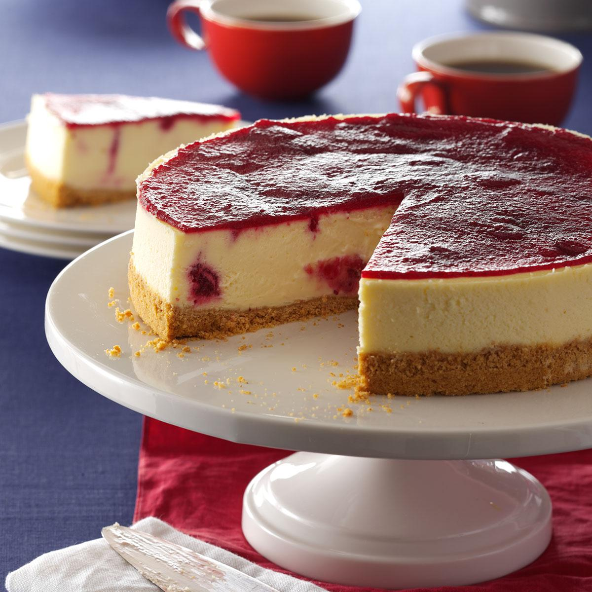 Cranberry Cheesecake image