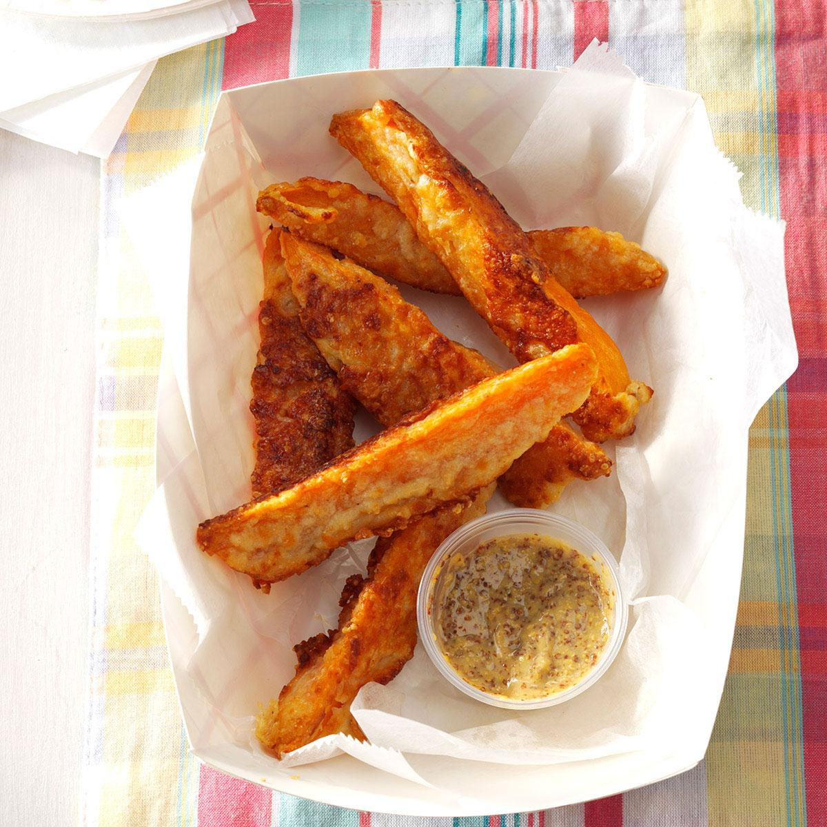 Parmesan Sweet Potato Wedges Recipe How To Make It Taste Of Home