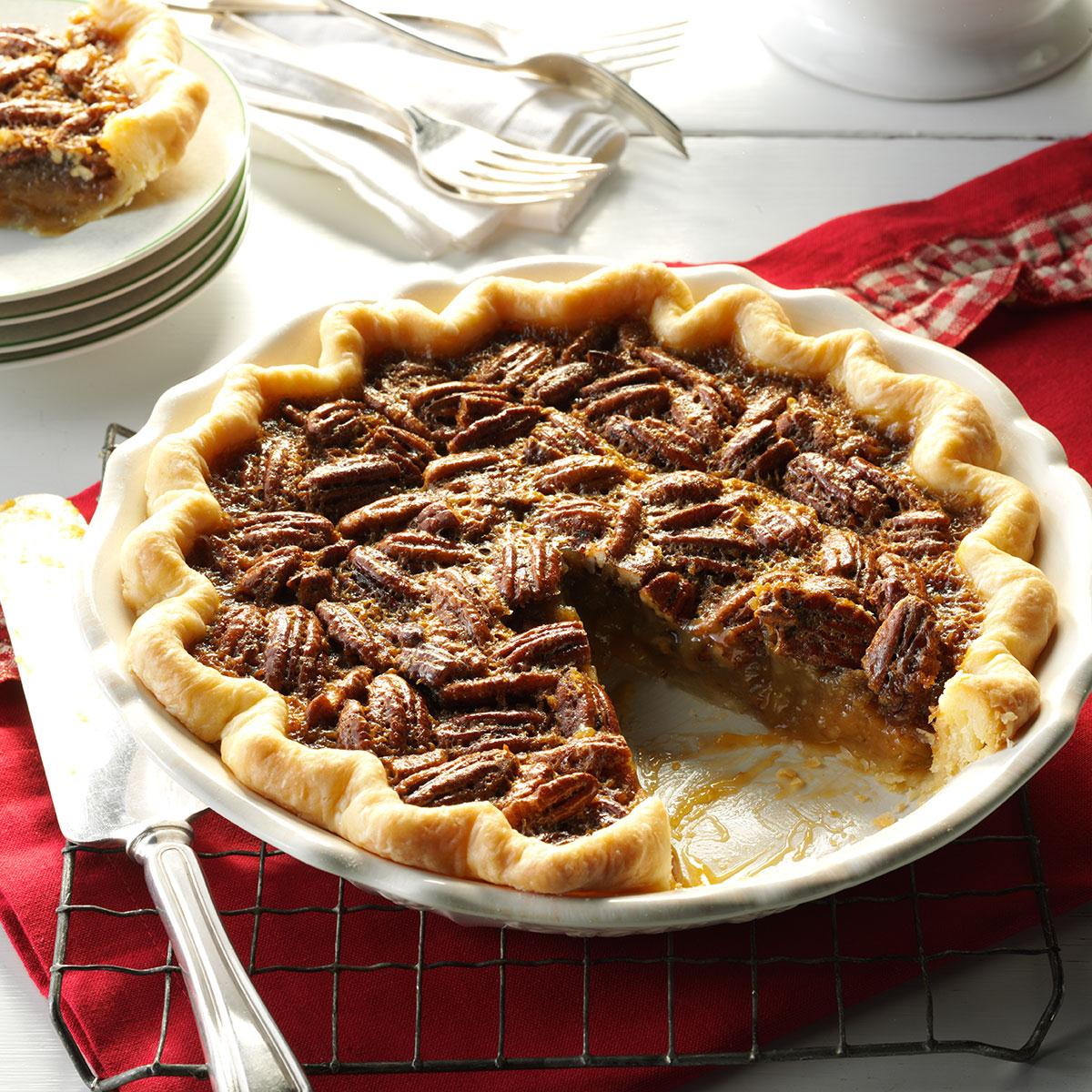 Southern Bourbon Pecan Pie Recipe How To Make It Taste Of Home