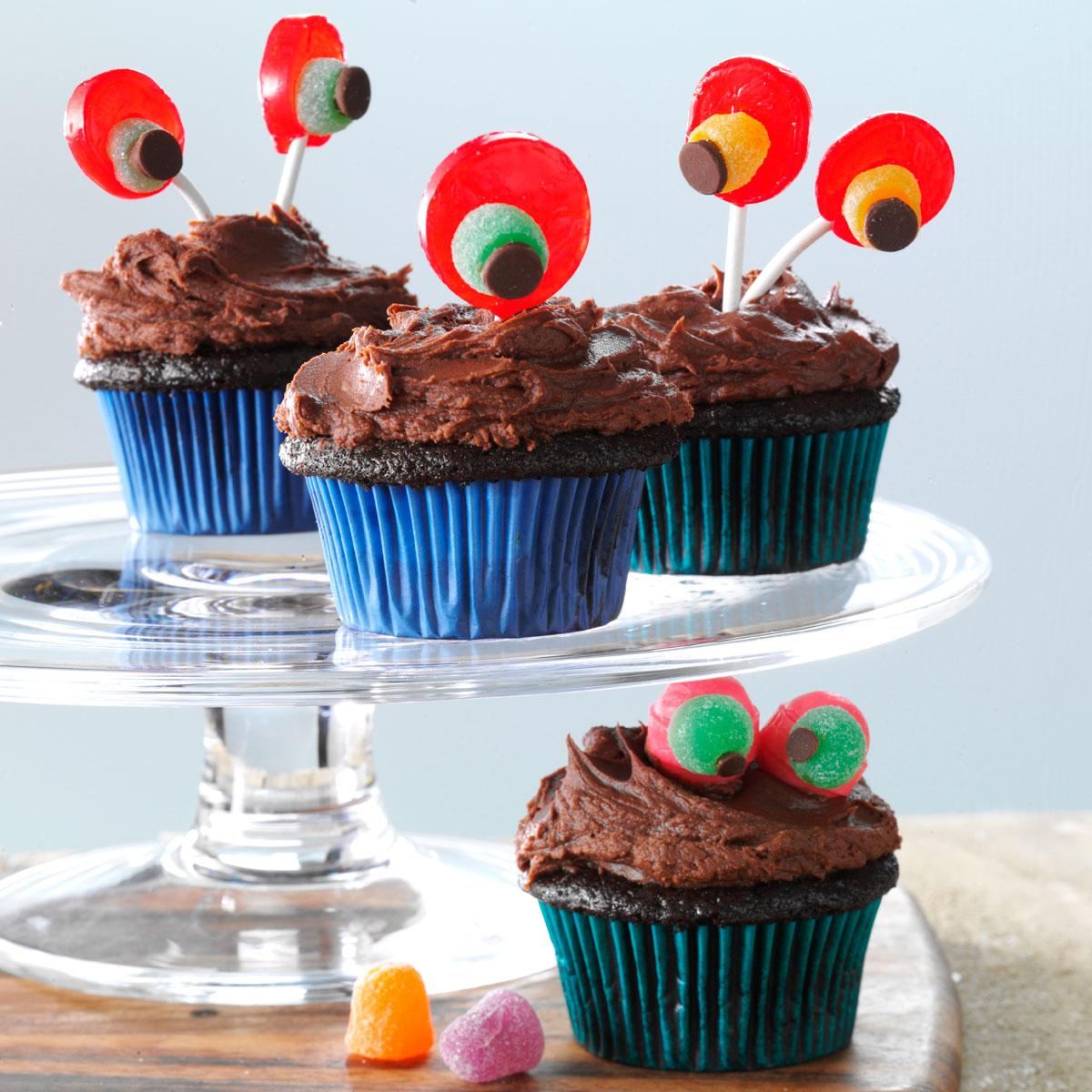 Devil's Food Cupcakes with Chocolaty Frosting image