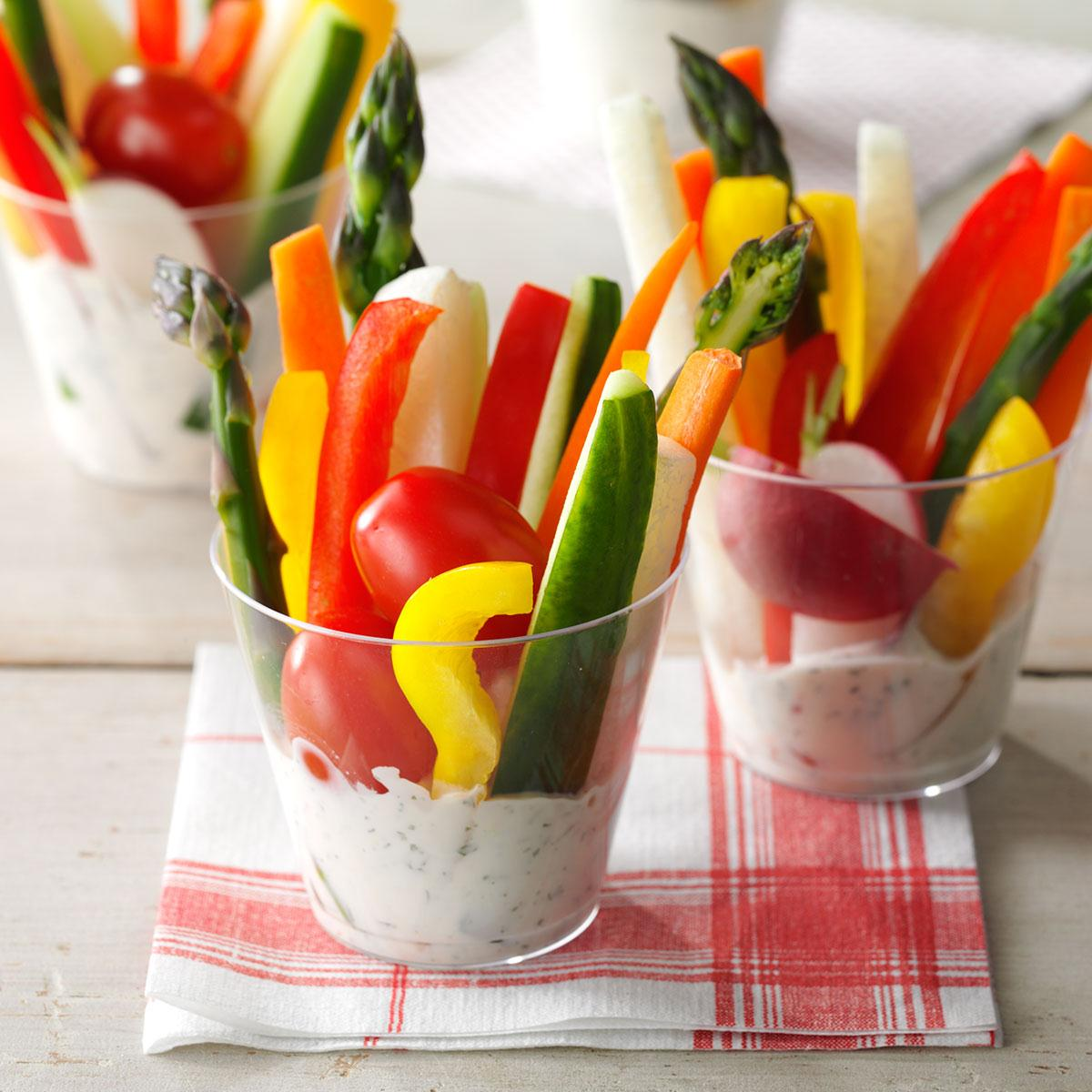Dill Vegetable Dip_image
