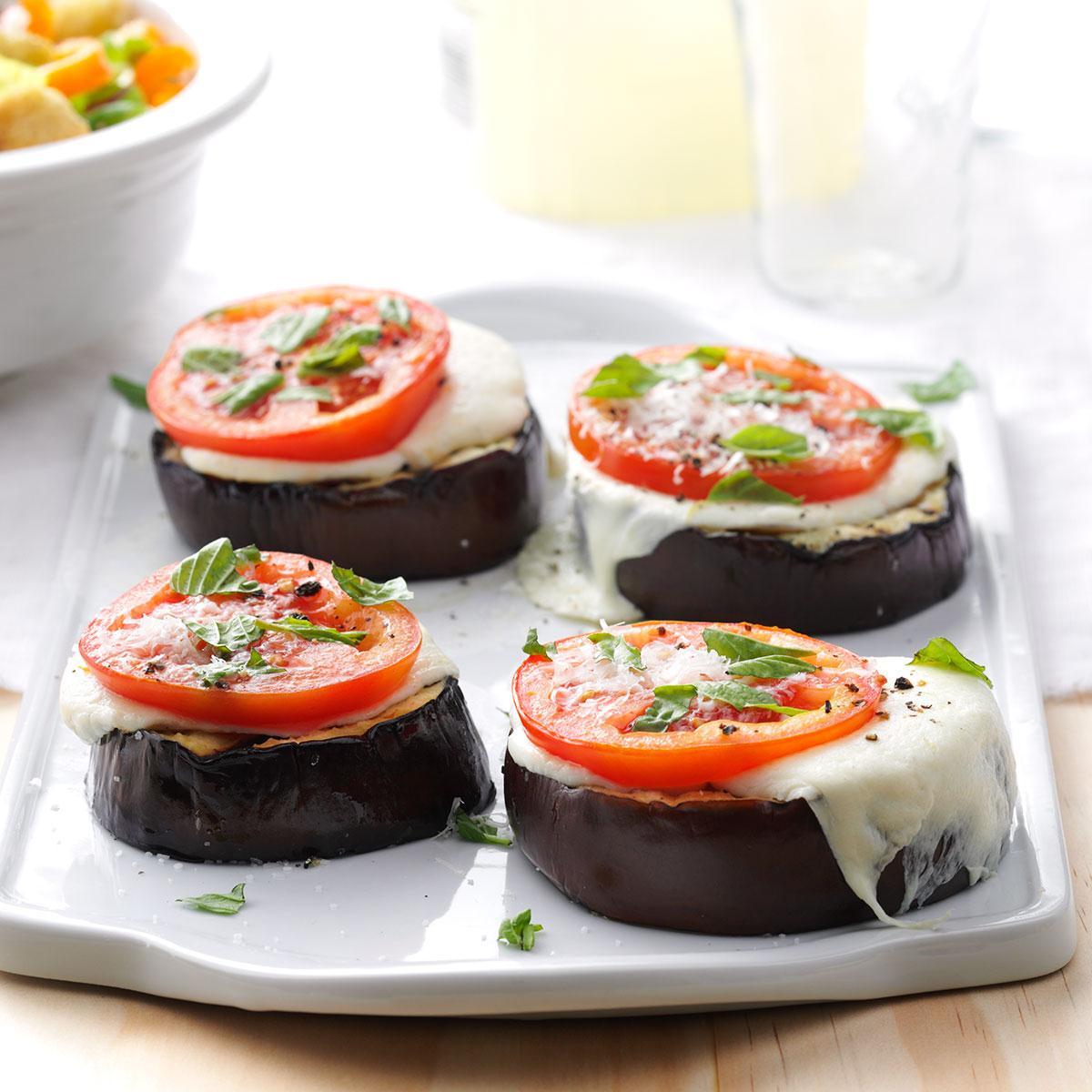 Grilled Eggplant Parmesan Stacks Recipe Taste Of Home,Purple Cleome Flower
