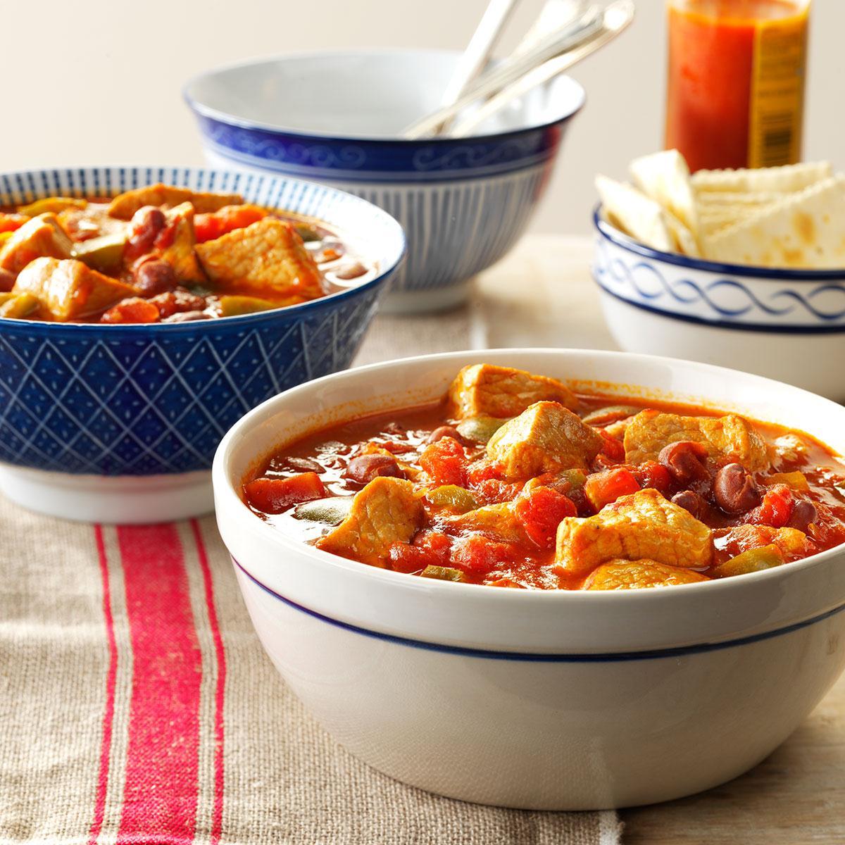 Pork Chili Recipe How To Make It Taste Of Home