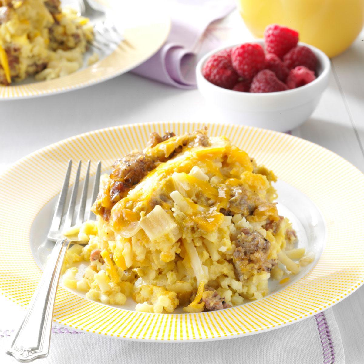 Slow Cooker Breakfast Casserole Recipe Taste Of Home