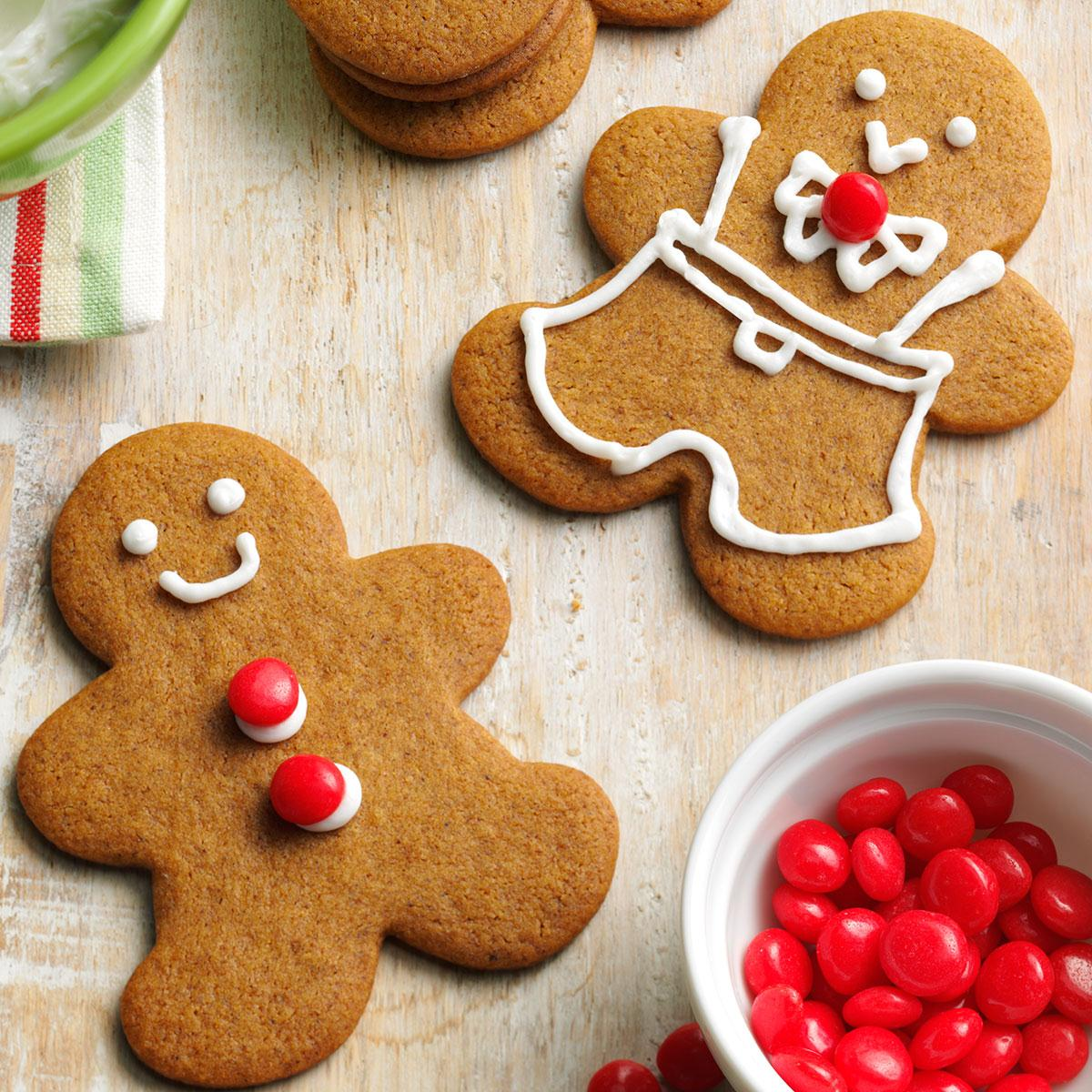 Swedish Gingerbread Cookies Recipe How To Make It Taste Of Home