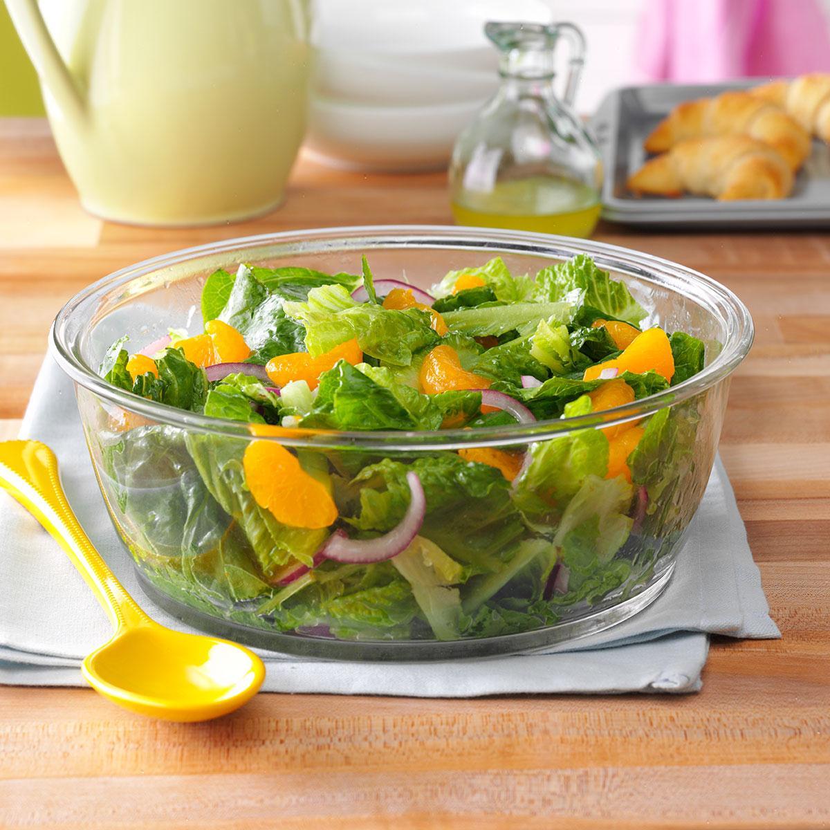 Romaine & Orange Salad with Lime Dressing_image