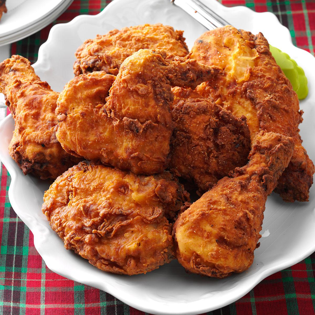 Real Southern Fried Chicken Recipe Taste Of Home