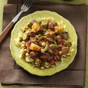 Healthy Vegetable Beef Stew