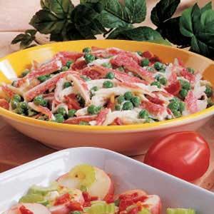 Crab and Pea Salad image