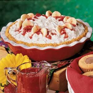Banana Cream Cheese Pie image