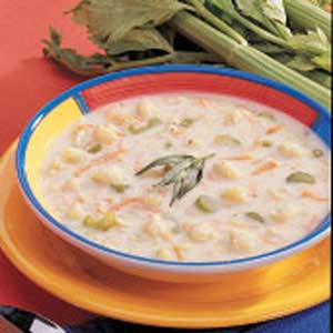 Winning Cream of Cauliflower Soup_image