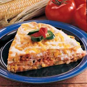 Egg and Corn Quesadilla image