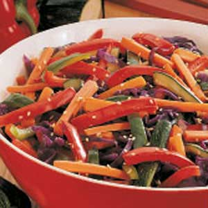 Colorful Vegetable Saute image