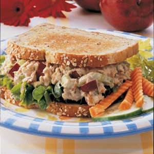 Apple Tuna Sandwiches_image