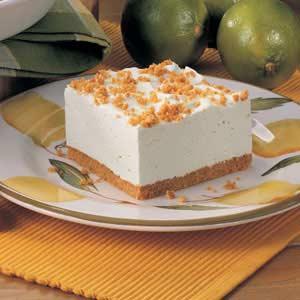 Lime Chiffon Dessert image