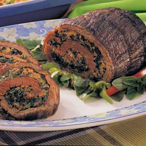 Spinach-Stuffed Steak image