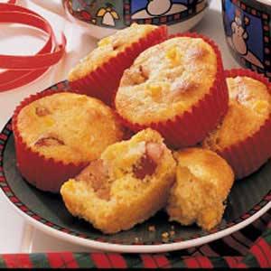 Corn Dog Muffins