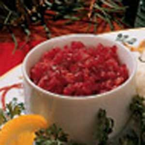 No-Cook Cranberry Relish