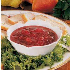 Pear Cranberry Sauce image