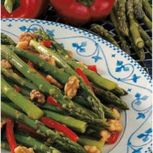 Asparagus Nut Stir-Fry image