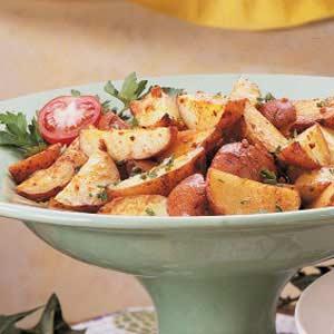 Roasted Garlic Potatoes_image