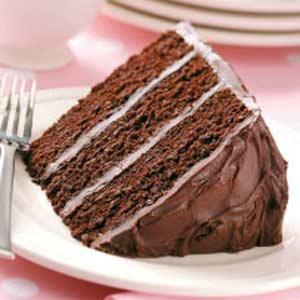 Dark Chocolate Layer Cake image