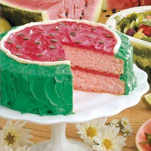 Watermelon Cake Recipe How To Make It Taste Of Home