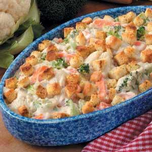 Creamy Vegetable Casserole_image