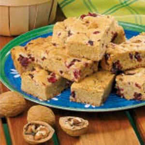 Cranberry Walnut Bars image