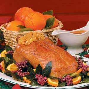Roast Duck with Orange Glaze image