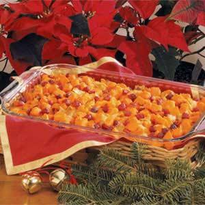 Sweet Potato and Cranberry Bake image