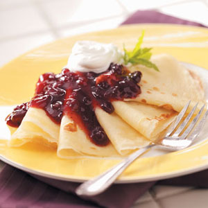 Swedish Pancakes Recipe How To Make It Taste Of Home
