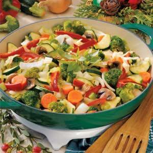 Colorful Vegetable Medley Side Dish image