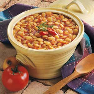 Barbecued Lima Beans