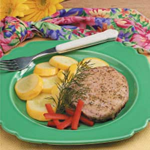 Dilly Pork Chops image
