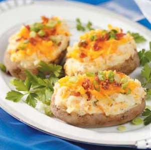 Creamy Stuffed Baked Potatoes_image