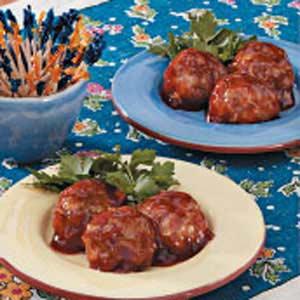Saucy Turkey Meatballs image