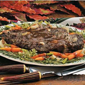 Venison Roast Recipe How To Make It Taste Of Home