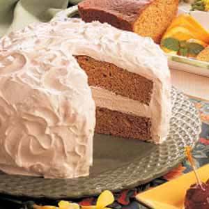 Sour Cream Spice Cake image