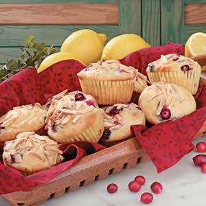 Lemon Cranberry Muffins image