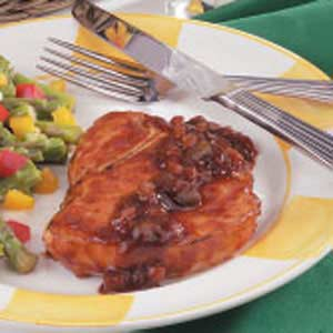 Easy Barbecued Pork Chops