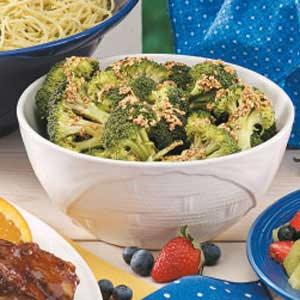 Easy Sesame Broccoli_image