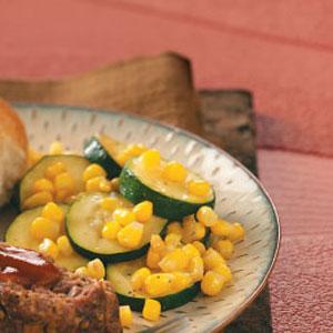 Zucchini Corn Saute image