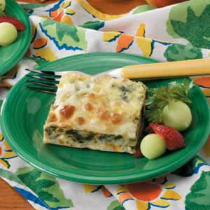 Spinach Cheese Phyllo Squares image