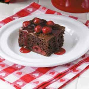 Cherry Chocolate Cake image