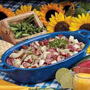 Warm Sausage Potato Salad