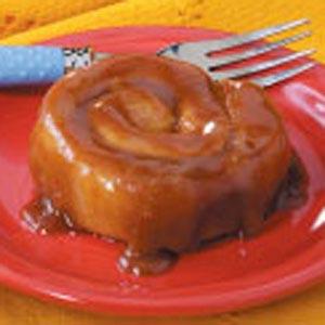 Sticky Caramel Cinnamon Rolls