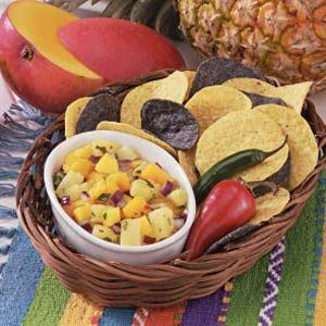 Pineapple Mango Salsa image