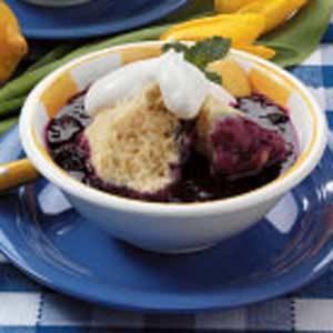 Blueberries 'n' Dumplings image
